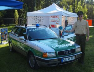 Polizei-300x232 Zlot miłośników zabytkowych pojazdów, czyli o kolejnej edycji Classic Mania Night